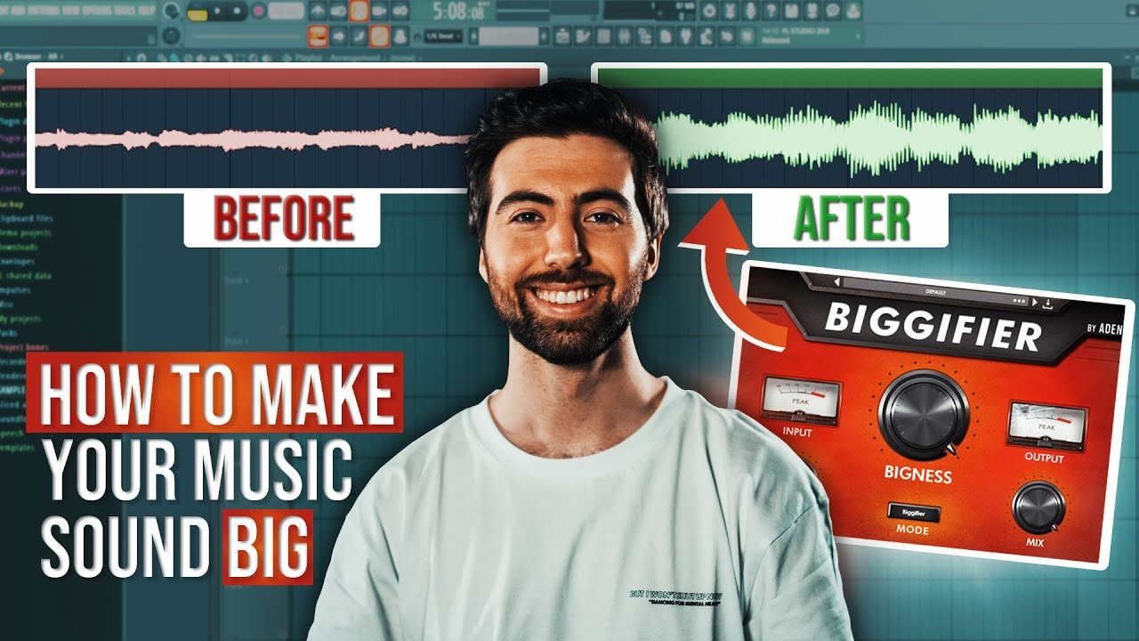 How To Make Your Music Sound BIG (Biggifier Plugin)